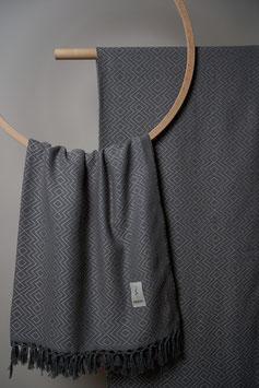 Tribal Towel dark Grey