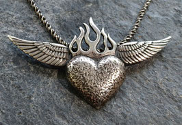 """Flaming Heart & Wings"""