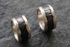 """Ringe """" Eisen/ Silber"""""""