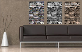 Poster Alfa Romeo Stabilimento Arese