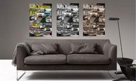 Poster Alfa Romeo GTV6 Racing