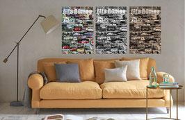 Poster Alfa Romeo 75 Racing