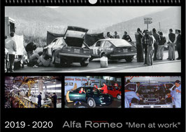 Kalender Alfa Romeo Men at Work