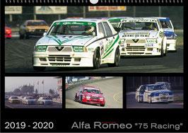 Kalender Alfa Romeo 75 Racing