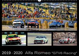 Kalender Alfa Romeo GTV6 Racing