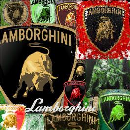 Art Logo Poster Lamborghini