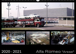 Kalender Alfa Romeo Stabilimento Arese