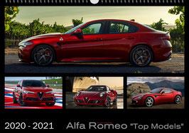 Kalender Alfa Romeo Top Models