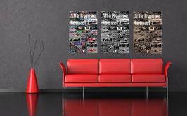 Poster Alfa Romeo Formel 1