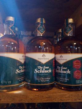 De fine Schluck Cognac ,Sherry Fass gelagert