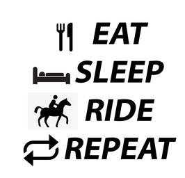 Quote Eat, Sleep, Ride, Repeat