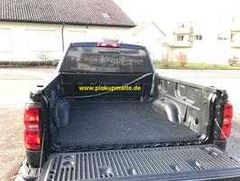 PickUpMatte für GMC Sierra / Chevrolet Silverado mit Original-Laderaumwanne