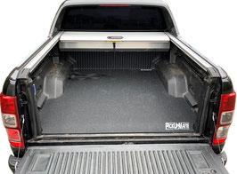 PickUpMatte / Antirutschmatte für Ford Ranger, Doppelkabine,  Form #1 - abgeflacht (Bj. 2012-2019)