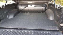 PickUpMatte für Dodge Ram, 4. oder 5. Gen. gekürzte Form für Gastank -- MIT -- Laderaumwanne, ohne Rambox