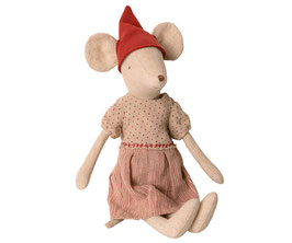 Christmas mouse, girl, medium