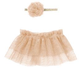 Tutu und Haarband für Mini, rose
