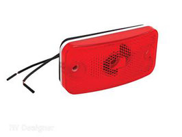 Clearance Light; LED Red Compl.