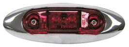 Side Marker Light - LED; Side Marker Light red