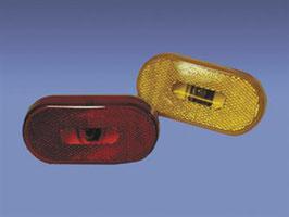 Side Marker Light; Clearance Light; Amber Lens Cover