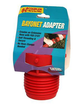 Abwasserschlauch Bayonet Adapter  zu Amerikanischen Wohnmobile