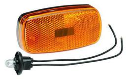 Trailer Light; 478 Series Amber compl.
