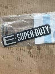Ford E Super Duty Emblem Pair Econoline Fender Logo