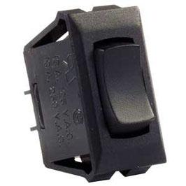 Black 12 Volt On/Off/On Switch