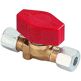 Gas Ventil Absperrventil Gasventil 1er für beidseitig