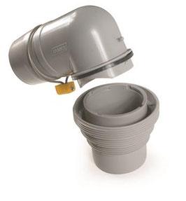 Sewer Hose Connector; Easy Slip