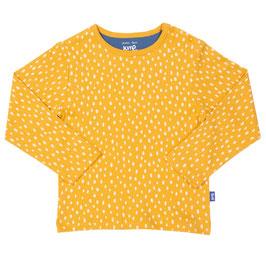 Langarmhirt SPECKLE mustard