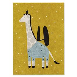 Postkarte GIRAFFE (Ava & Yves) 4