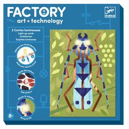 Factory Stromkreis-Bilder zum Beleuchten INSEKTARIUM (Djeco)