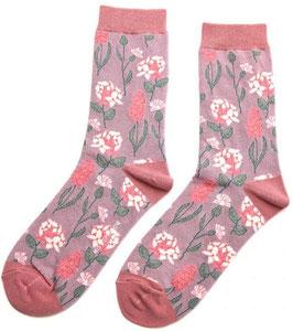 Bambus Socken BOTANY lilac (Miss Sparrow) 37-42