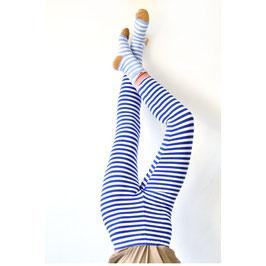 Bio Leggings Ringel MARINE BLUE (Rasmussons)