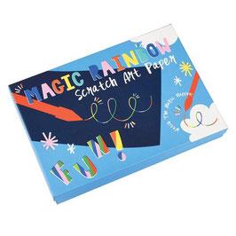 Magisches Kratzpapier Kunst-Set