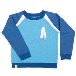 Sweat Pullover SEAN classic blue (Alba of Denmark)