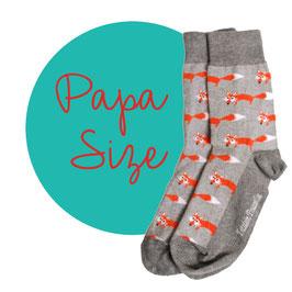 Socken Fuchs (PAPA)