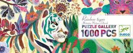 Riesen Puzzle RAINBOW TIGER  (Djeco)  1000 Teile