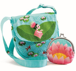 Kindertasche mit Geldbeutel: Waterlily (Djeco)
