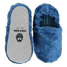 vegane Krabbelschuhe in der Geschenkbox - FLUFFY BLUE