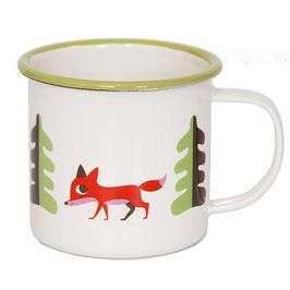 "Emaille Tasse ""Fuchs"" (OMM Design)"