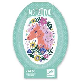 XL Big Tattoo POETISCHES PFERD (Djeco)