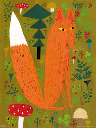 "Postkarte ""Fuchs"" (Kehvola)"