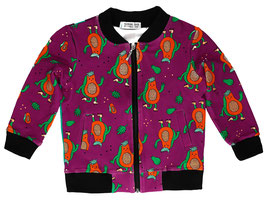 Bio Bomberjacke Papaya Power (Raspberry Republic)