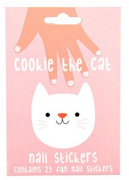 Nagel-Sticker Kätzchen