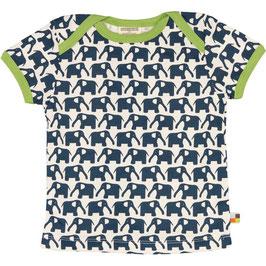 T-Shirt Elefanten MARINE (loud + proud) kurzarm
