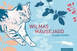 """Bilderbuch mit Lupe """"Wilmas Mäusejagd"""" (Kunstanstifter)"""
