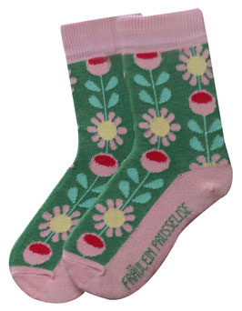 Bio Socken Retro Flower (KIDS)