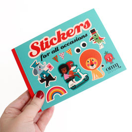 50 Seitiges Stickerbuch (OMM Design)