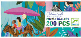 Riesen Puzzle CHILDREN`S WALK (Djeco) 200 Teile